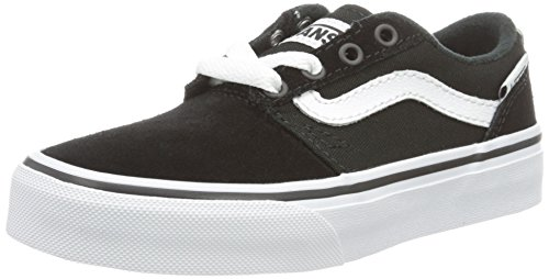Vans VansYt Chapman Stripe - Zapatillas Para Chico Negro (Suede/canvas)