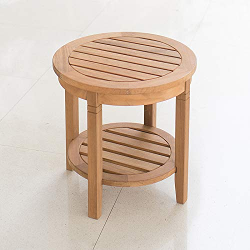 Cambridge-Casual AMZ-180670T Arie Teak Round Side Table