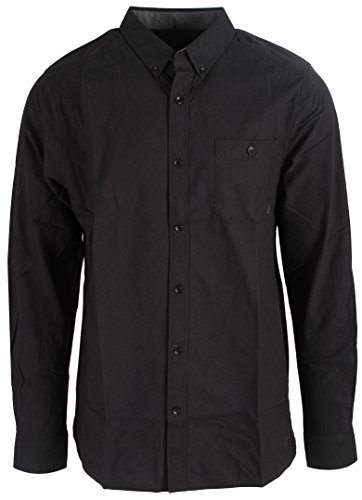Nixon Hemlock L/S Shirt Mens Sz L