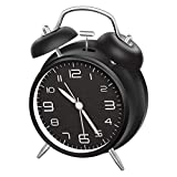 "Best Loud Alarm Clocks - CHEREEKI 4"" Twin Bell Alarm Clock with Backlight Review"