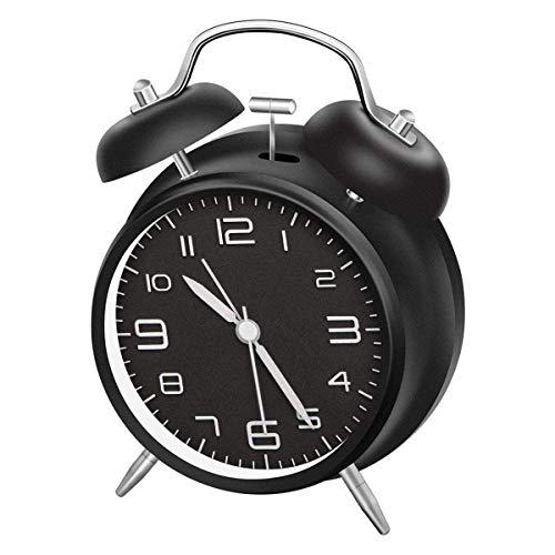 Loud Battery Alarm Clock - CHEREEKI 4