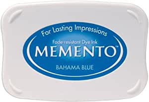Tsukineko ME000601 - Almohadilla de tinta, color azul