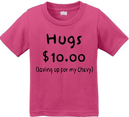 Anicelook Hugs $10.00 saving up for my new chevy Unisex Toddler T-shirt