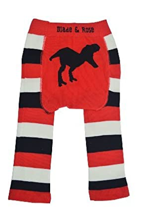 ee3ef8cb5 Blade and Rose Baby Boys T-Rex Leggings + Matching Socks 2 Pack.Red (2-3  Years): Amazon.co.uk: Clothing
