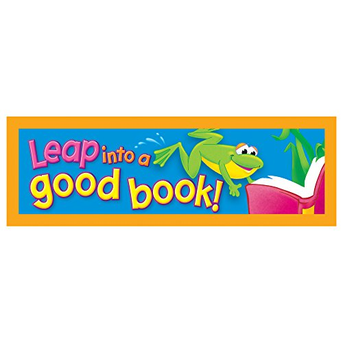 TREND enterprises, Inc. Leap into a good book! Bookmarks, 36 ct (Bookmark Frog)