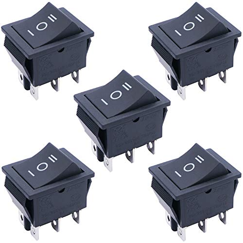 Auto Car On Off Momentary Rocker Switch Control 6 Pins 3 Position Power Button