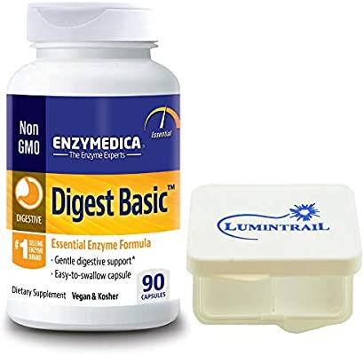 Amazon.com: Enzymedica – digerir Basic, esencial, Full ...