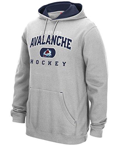 Reebok Nhl Playbook Hoody - COLORADO AVALANCHE 2015-16 NHL REEBOK FACEOFF PLAYBOOK TEAM LOGO HOODIE FLEECE MEN'S (Small)