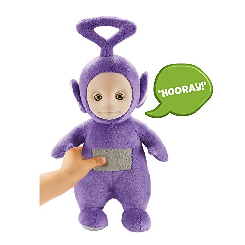 Teletubbies 06109 Cbeebies Talking Tinky Winky Soft Toy (Purple) -