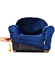 Keet Roundy Chair Cover, Navy