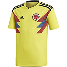 Adidas Youth Colombia 2018 Home Replica Jersey