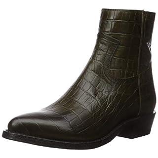 Frye Women's Billy Inside Zip Bootie Western Boot, Rosemary, 7.5 M US