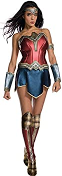 Women's Wonder Woman Secret Wishes Costume with Boot Tops