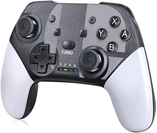 Switch Controller for Nintendo Switch/Switch Lite - IKEVER Wireless Switch Controller Gamepad Remote Joystick with Turbo, Dual Vibration & Gyro Axis