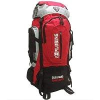 Mochila Camping Trilha 70 Litros MC5386 Clio - Vermelha