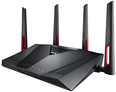 ASUS Dual-Band Gigabit WiFi Gaming Router (AC3100) with MU-MIMO, supporting AiProtection community safety by way of Trend Micro, AiMesh for Mesh WiFi gadget, and WTFast sport Accelerator (RT-AC88U),Black