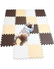 MQIAOHAM bébé dalles enfants jeux jouet mousses puzzle salle sol souple tapis non toxique Multicolore