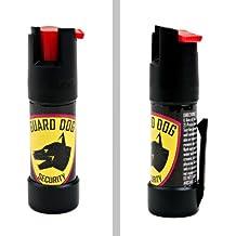Guard Dog Security Pocket Pepper Spray, Red Hot OC Self Defense Spray with UV Dye