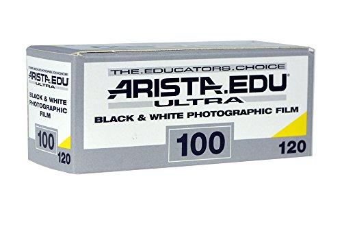 Arista EDU Ultra 100 ISO Black & White Film, 120