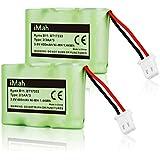 2-Pack iMah BT-17333 BT-27333 Battery Compatible VTech BT163345 BT263345 CS2111 CS5121 at&T 89-1332-00-00 Sanyo CLT3500 Radio Shack 23-956 43-3215 GE 153524 2830663 5-2320 Cordless Handset Phone