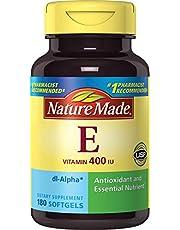 Nature Made Vitamin E 400IU, 180 Softgels (Pack of 2)