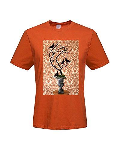 DIY T-Shirts,Men's 100% Cotton Short Sleeve T-Shirt (X-Large)