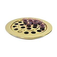 Communion-Brass tone-Communion Tray-Small Group-10