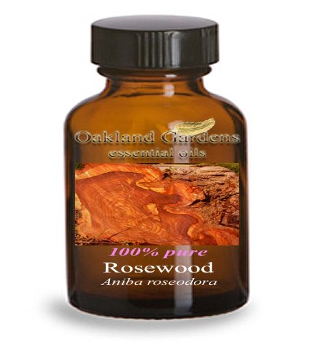 ROSEWOOD Essential Oil (5 mL Euro Dropper) - 100% PURE Therapeutic Grade Essential Oil - Aniba roseodora - Essential Oil By Oakland Gardens
