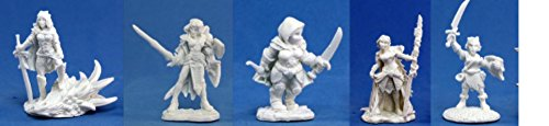Reaper Bones Collection - Female adventuress pack
