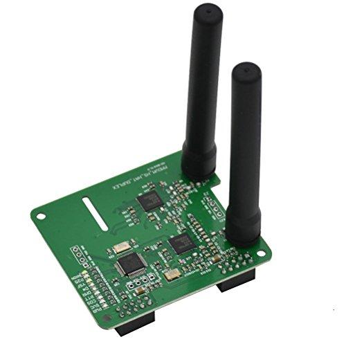 OUNONA Placa de Antena Hotspot Hotspot Dúplex MMDVM Soporte de placa de antena doble P25 DMR YSF para Raspberry Pi
