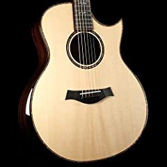 6-string Acoustic-electric Guitar with AA Sitka Spruce Top, AA Rosewood Back and Sides, Mahogany Neck, Ebony Fingerboard, and Taylor ES2 Electronics - Natural