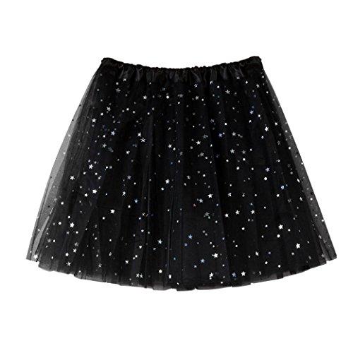 adulte Tutu tutu de courte Gaze en Tutu Courte Moonuy couleurs Femme jupe Mini tulle jupe ballet Jupe varies court plisse danse Noir Robe IgxqO4