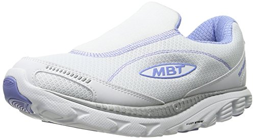 4 MBT Shoe 16 on White Purple Walking Slip Colours Speed Women's White Various Silver Light TwrRT