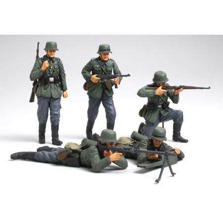 German Soldier Figure - Tamiya America, Inc 1/35 German Infantry Set, French Campaign, TAM35293