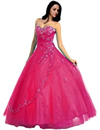 NRM28 Strapless Formal Dress Prom Gown