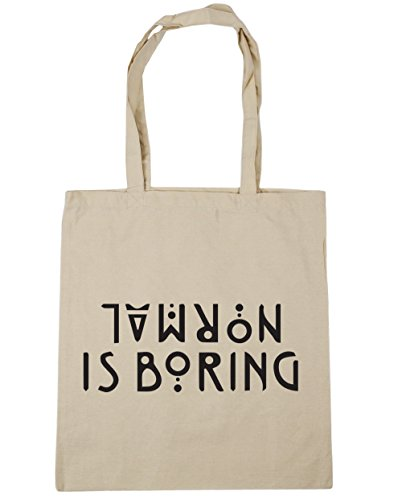 Tote is Shopping boring Natural Beach Gym HippoWarehouse Bag 10 litres x38cm 42cm Normal t5RqUU