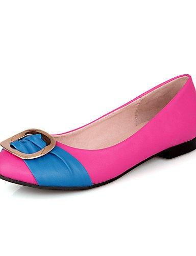 carrera 5 libre oficina coral de dedo plano casual cn38 us7 pie rosa eu38 zapatos de pisos al cerrado amarillo comodidad del PDX 5 aire talón y negro peach uk5 mujer azul 6nTqZ0gC