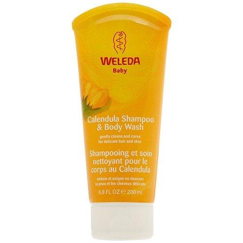 (4 PACK) - Weleda - Calendula Shampoo & Body Wash | 200ml | 4 PACK BUNDLE