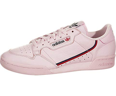 new concept 7b877 a832d adidas Continental 80 Mens in Clear PinkScarletNavy, 7