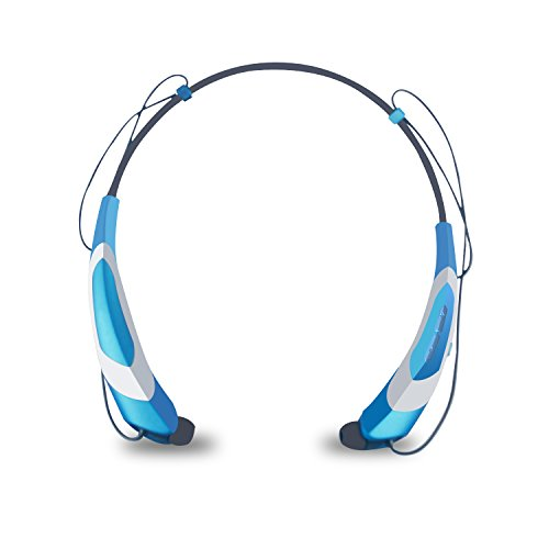 Wireless Sport Bluetooth Headphone (Blue) - 8