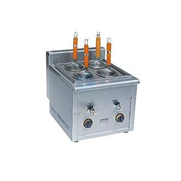 fy-4 m.r equipos comerciales de gas de acero inoxidable multifuncional cocina de Kanto máquina aperitivos olla para cocción de pasta fideos cocina 4 ...