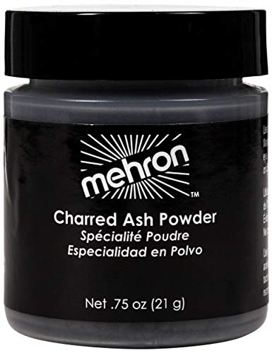 Effects Makeup - Mehron Makeup Special Effects Makeup Powder Charred Ash (.75 oz)