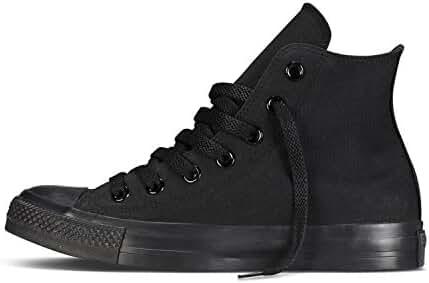 Karmaloop Converse The Chuck Taylor All Star Core Hi Sneaker Black (13 D(M) US, Black Monochrome)