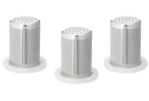 タンブラー型浄水器 「シリカピュア」専用交換カートリッジ 3個セット