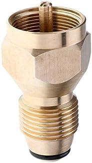 Universal Safety Propane Refill Adapter for 1Lb Cylinder Tank Coupler Heater Bottle Solid Brass Regulator Valv