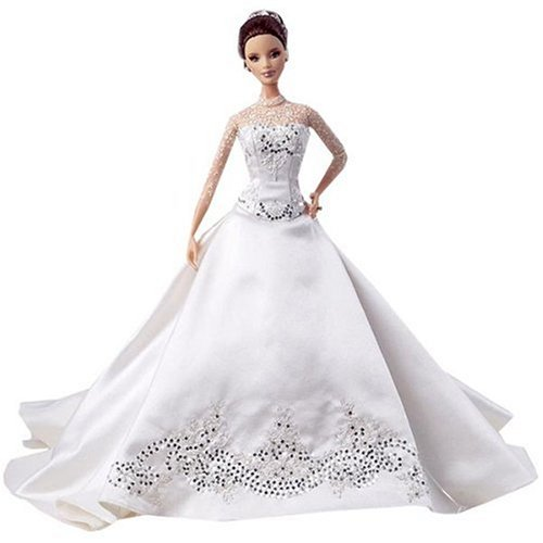 Reem Acra Bride Barbie Doll