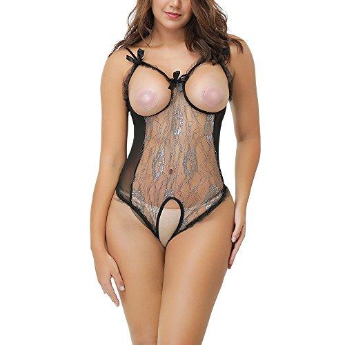 Nuisette Lingerie MEIbax Femme lingerie Femme Noir du Sommeil Sleepwear vêtements Sexy G Camis Sexy Sous String Dentelle Usure nuit Sq1pn1x