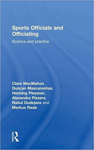 Sports Officials and Officiating: Science and Practice