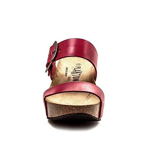 Plakton Plakton sandali Donna Sabot Sabot Rosso Plakton Rosso Donna sandali XXqB5