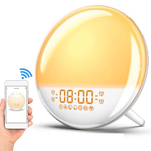Sunrise Alarm Clock Wake Up Light